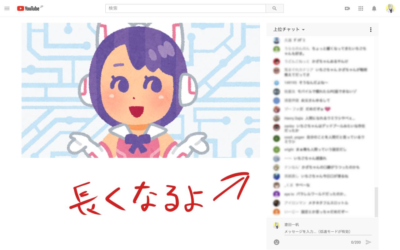 【自作Chrome拡張】YouTubeライブのチャット欄を拡大する「MaxChat」