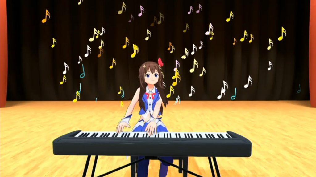 ときのそらのピアノ