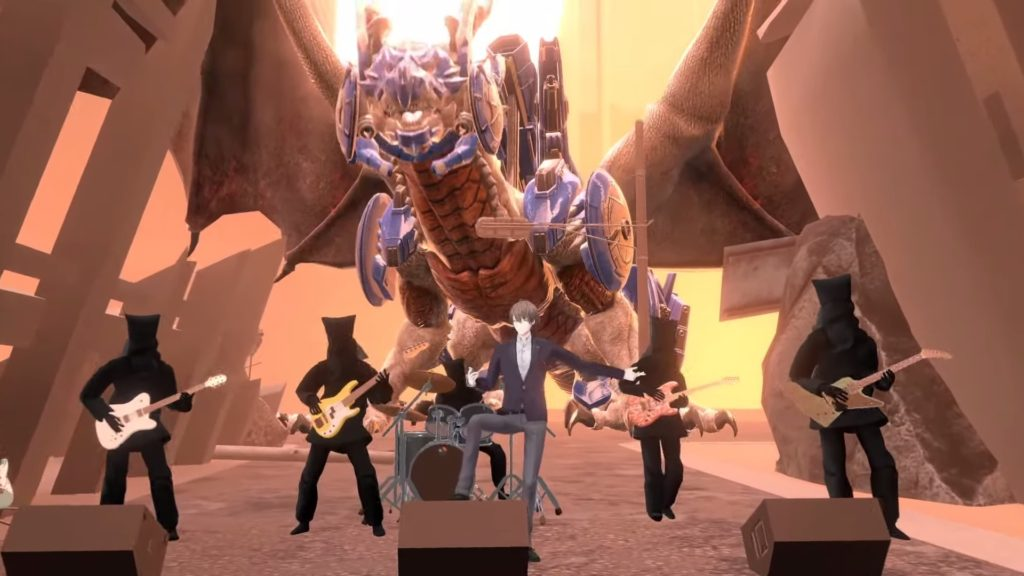 これがゲストのバンドとボルメテウス・ホワイト・ドラゴン