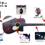 【デザイン】凛々咲のアコースティックギター