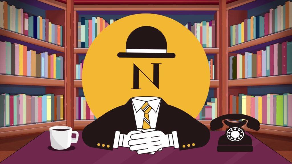 中田敦彦の「N」のアバター。まるで個性がない。
